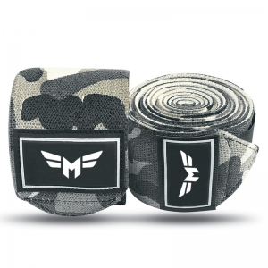 Weight Lifting Camo Knee Wraps
