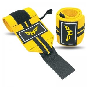 Weightlifting Wrist Wraps 2 Stripe-Normal